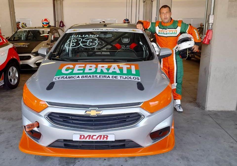 Juliano Felisberto estreia na Copa Joy Chevrolet