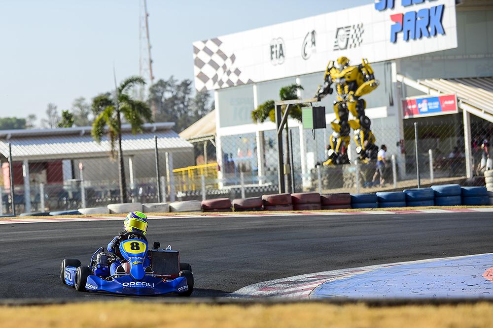 Ibiapina intensifica preparação para o Brasileiro de Kart
