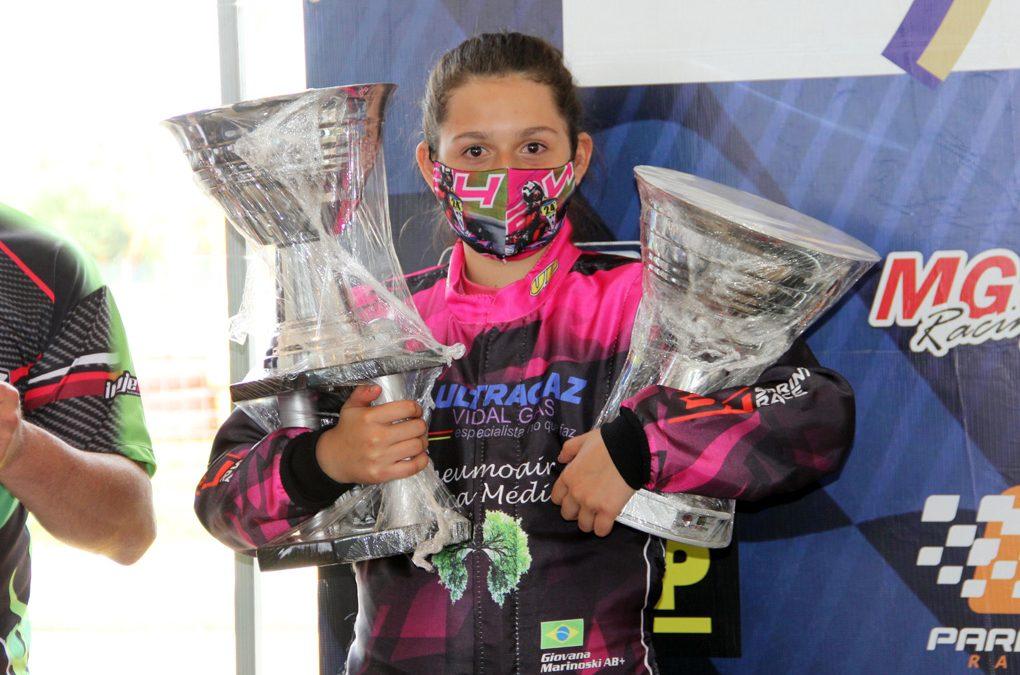 Giovana Marinoski conquista primeiros pódios da carreira