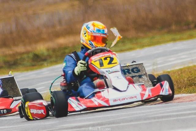 Rafael Gurgel é campeão no Cearense de Kart