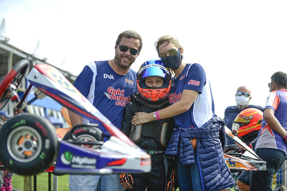 Toniolo chega a Birigui confiante no Open do Brasileiro de Kart