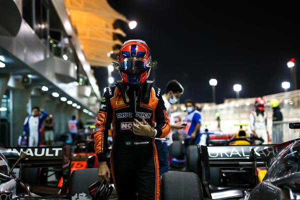 Drugovich larga em 5º na rodada de encerramento da Fórmula 2 no Bahrein