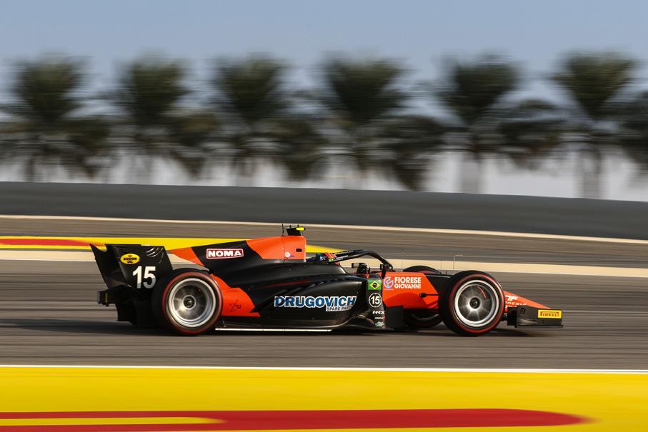 Drugovich conquistou novo pódio na Fórmula 2 no Bahrein