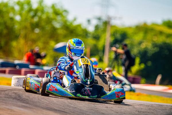 Pedro Clerot disputa o Campeonato Brasileiro de Kart depois de superar acidente e incertezas