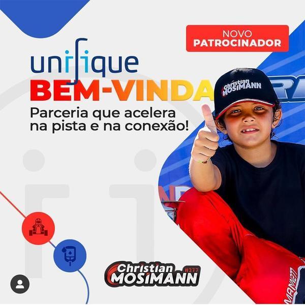 Christian Mosimann anuncia novo patrocinador