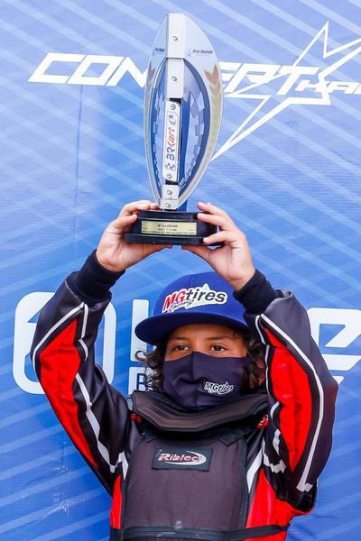Christian Mosimann é destaque do Brasileiro de Kart com terceiro lugar na categoria Cadete