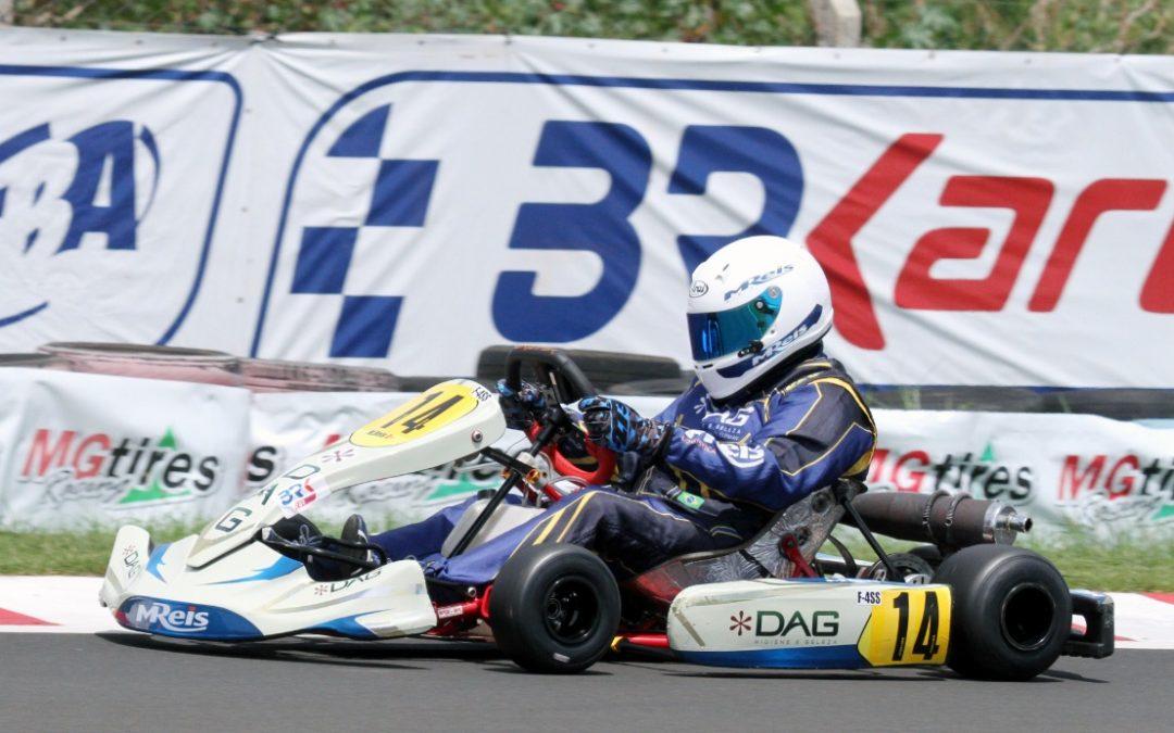 Cearense Mauro Reis destaca aprendizado no Brasileiro de Kart
