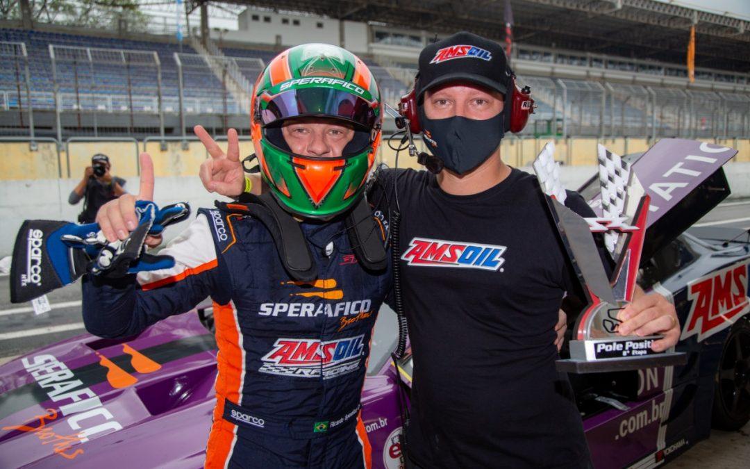 Ricardo e Rodrigo Sperafico largam na pole position na decisão da GT Sprint Race