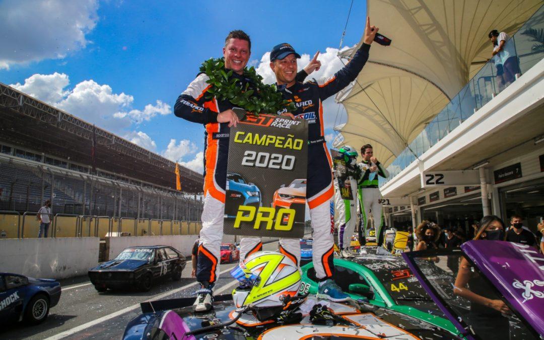 Sperafico é campeão na GT Sprint Race