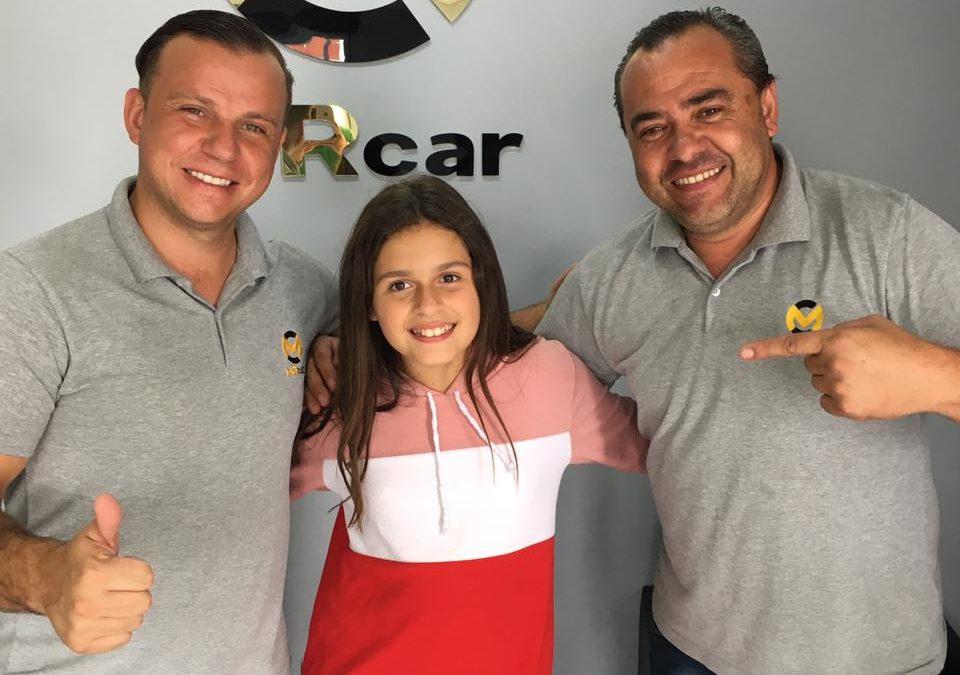 Giovana Marinoski começa o ano com novo patrocinador