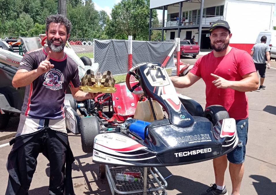 Lucian Brandalize leva o título da Sênior B no Catarinense de Kart