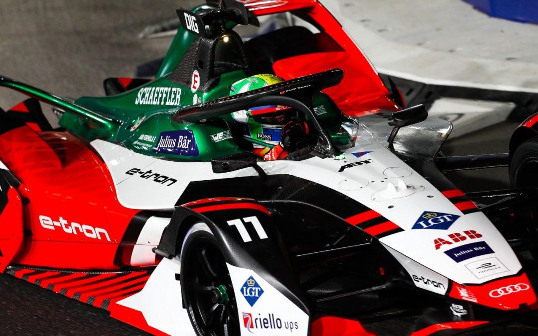Lucas di Grassi  marca pontos na abertura da Fórmula E