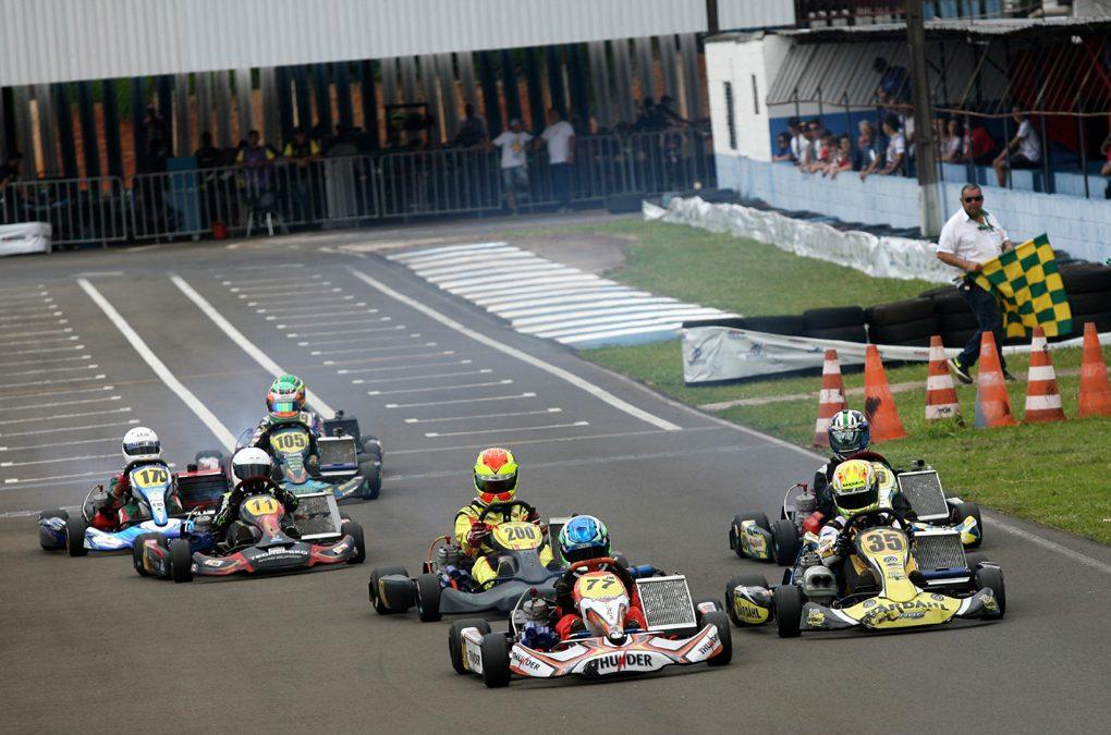 Paranaense de Kart será em Londrina como Open da Copa Brasil