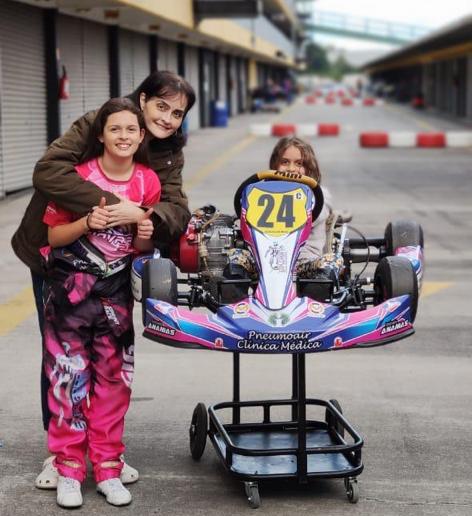 Giovana Marinoski homenageará a mãe na abertura da Copa Super Paraná de Kart