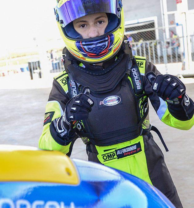 Ibiapina estreia na categoria OK Júnior com um quarto lugar em Birigui
