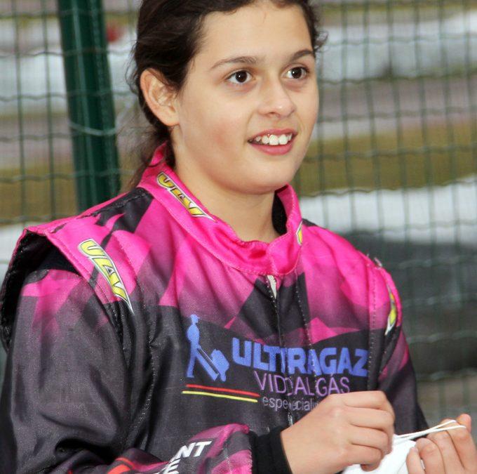 Giovana Marinoski disputa prova longa pela primeira vez na carreira