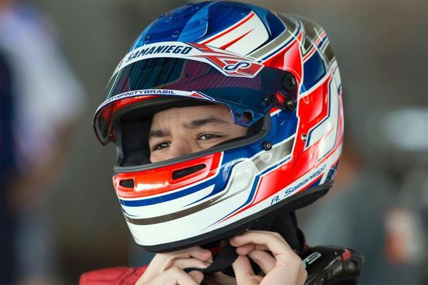 Alejandro Samaniego volta ao Brasil e faz sua estreia na Copa São Paulo Light de Kart