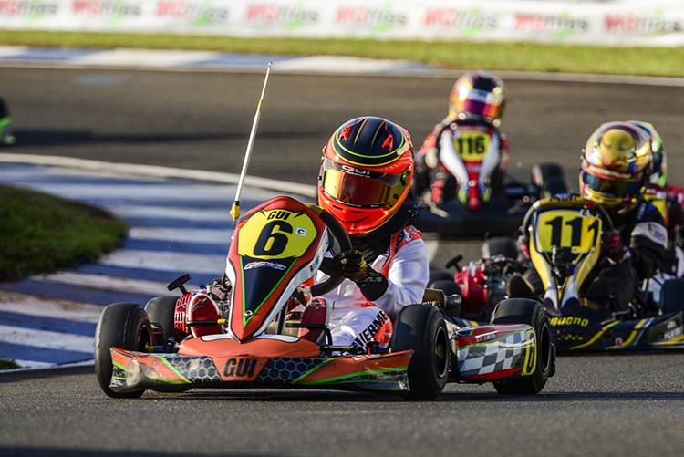 Campeão Paranaense e do Open, Guilherme Moleiro busca o título máximo da Copa Brasil de Kart