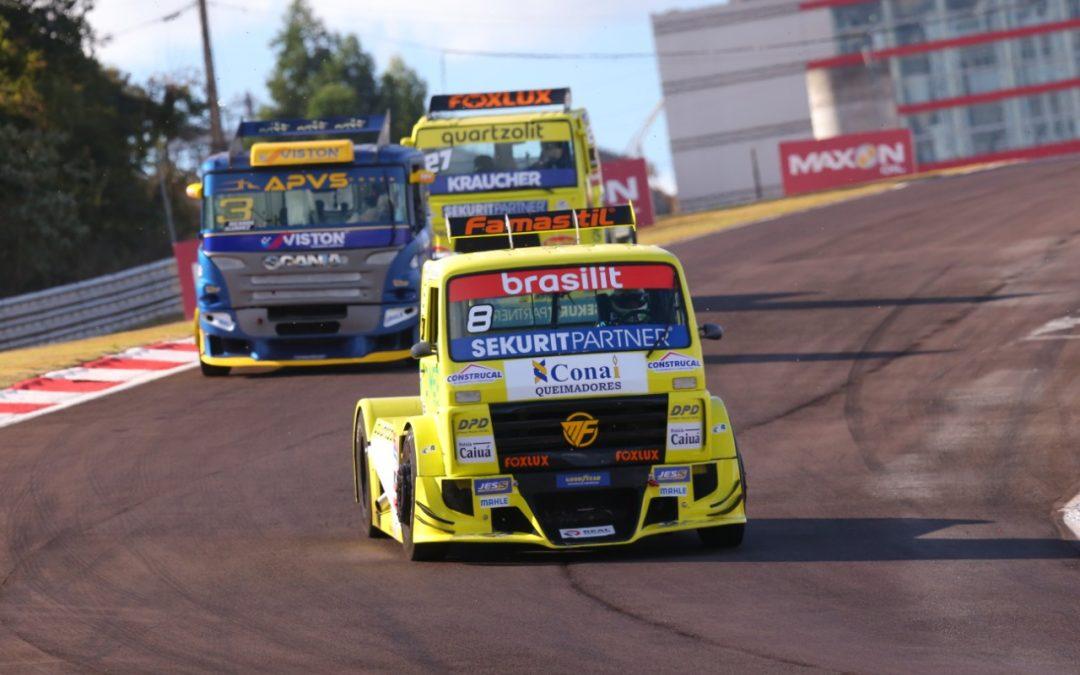 Depois do sábado frustrante, Fogaça e Pimenta tentam salvar o domingo na Copa Truck em Cascavel
