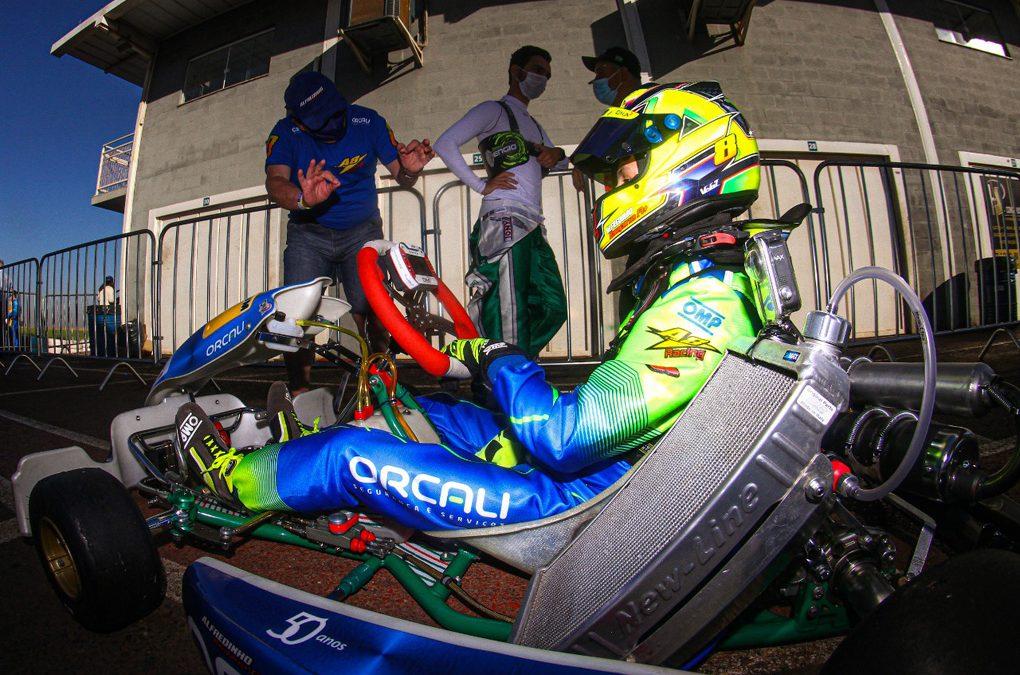 Ibiapina tem desempenho positivo na preparação para o Mundial de Kart