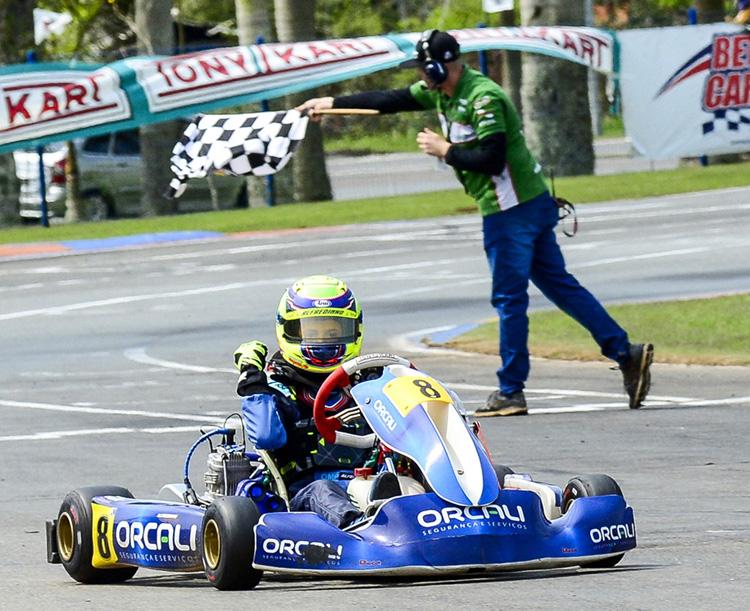 Ibiapina assume a liderança da categoria Júnior Menor na Copa SPR de Kart