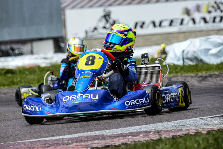 Ibiapina é vice-campeão no Sul-Brasileiro de Kart