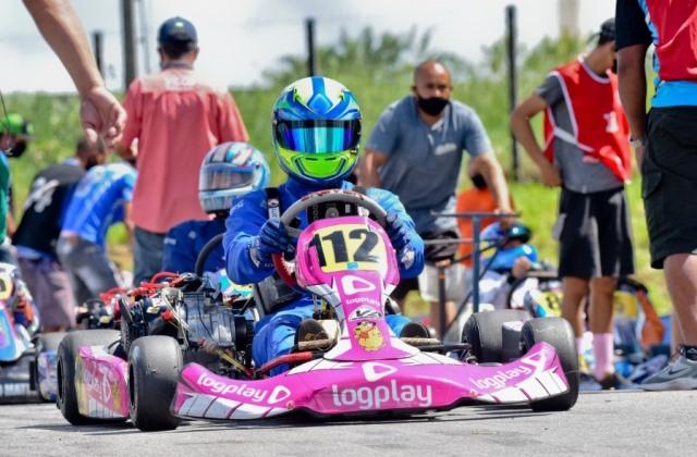 Pedro Moura busca novo pódio no Campeonato Nordeste de Kart